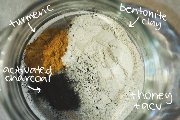 diy: bentonite clay mask
