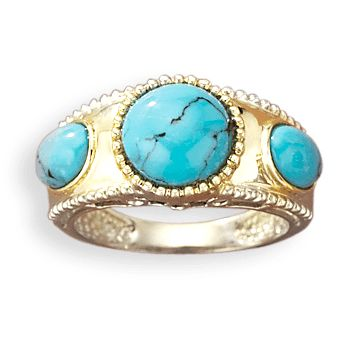 1375 best Jewelry images on Pinterest Gold turquoise ring