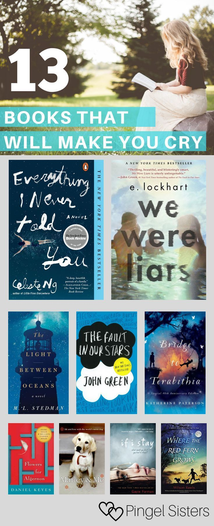 19 Books That Make You Cry Like A Baby Books For Teens Good Books Best Books To Read