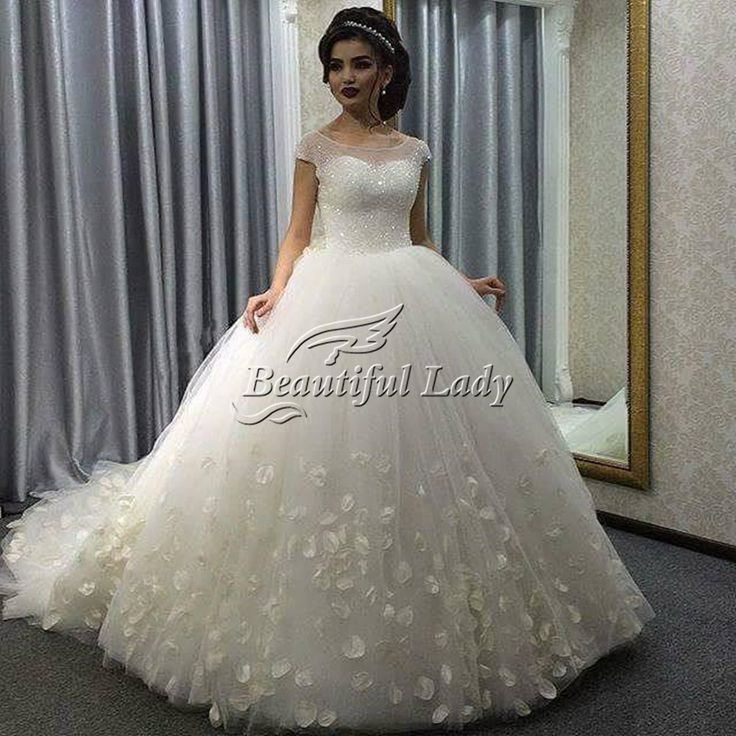 The 25 Best Puffy Wedding Dresses Ideas On Pinterest Pretty