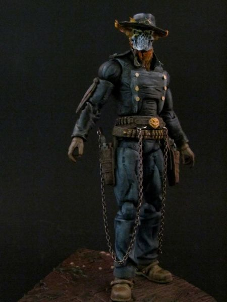 Western Ghost Rider & Hell Horse (Marvel Legends) Custom Action Figure