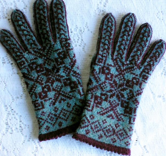 157 best Needlework-Knitting-Gloves images on Pinterest | Knit ...