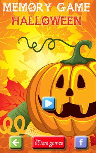 Halloween Memory Game for Kids http://bit.ly/1NnhUVs