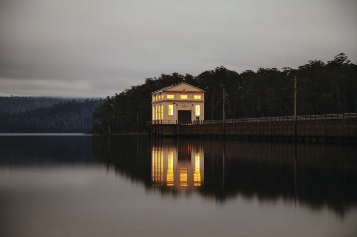 Southern Hemisphere's deepest freshwater lake at Pumphouse Point  #discovertasmania #seeaustralia #travel2next