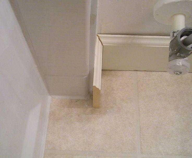 Bathroom baseboard ideas 28 baseboard ideas trim molding for Cheap hard flooring ideas