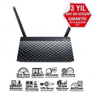 ASUS AC750 Dualband Kablosuz-N 4 port+2xUSB+Bittorent Router-Un  #pc #alışveriş #indirim #trendylodi  #bilgisayar  #bilgisayarcevrebirimleri  #teknoloji