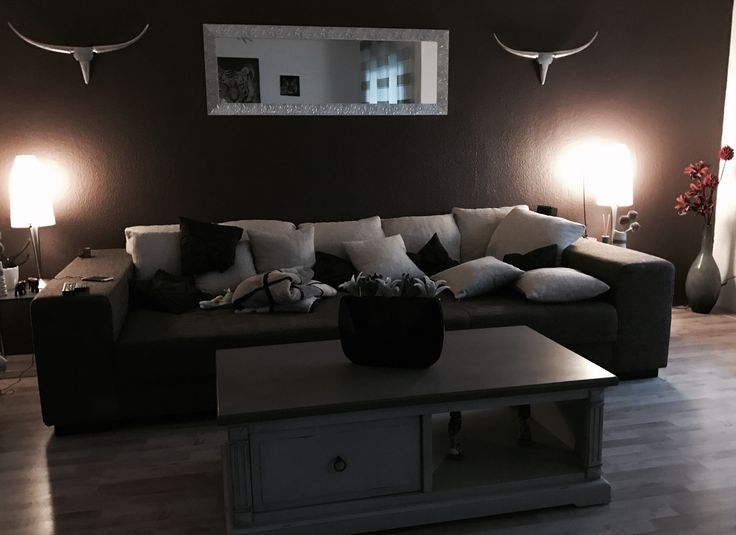 17 mejores ideas sobre wohnzimmer braun en pinterest | wandfarbe ... - Wohnzimmer Braun Silber