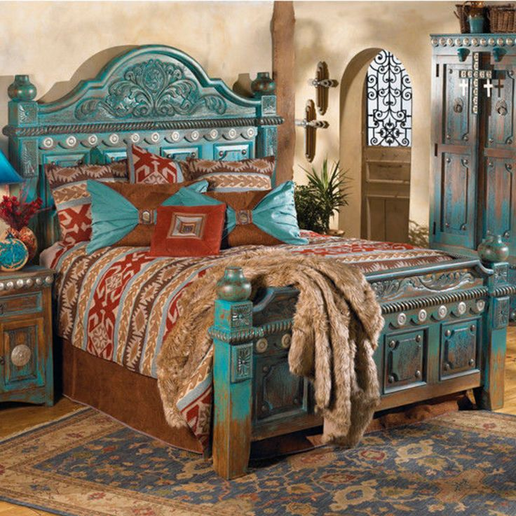 https://www.houzz.com/photos/42903874/Las-Cruces-Bed-southwestern-panel-beds