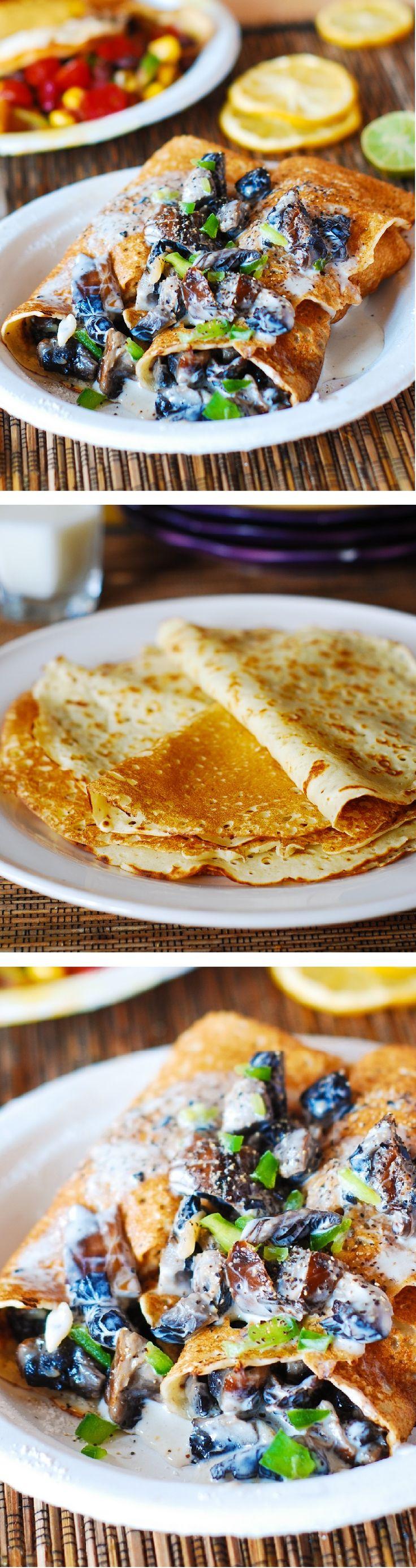 Tasty Crepe mix recipes on Pinterest
