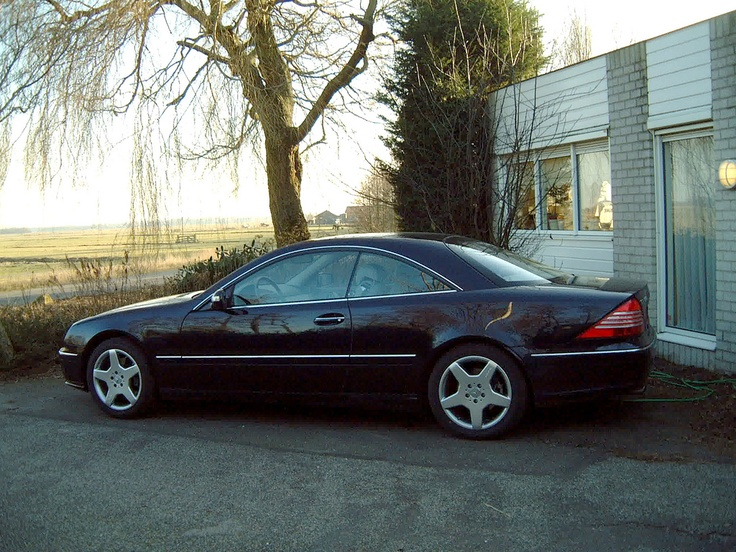 The Mercedes CL500 that I owned from 2004-2007