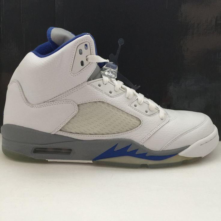 "official photos cecd6 1b698 ... WOLF NIKE AIR JORDAN 5 V STEALTH BLUE SIZE 12 Brand New Style ID   136027 142 Girls Air Jordan 7 Retro GG "" ..."