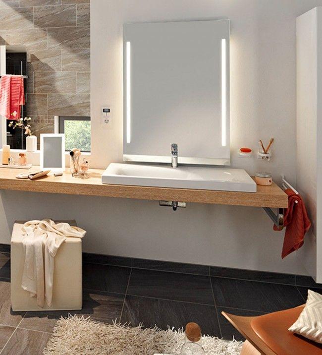 Die besten 17 ideen zu badezimmerspiegel auf pinterest - Badezimmerspiegel modern ...