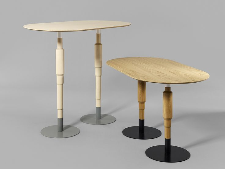 Minus tio - Cosmos X wood multi pedestal table signature image