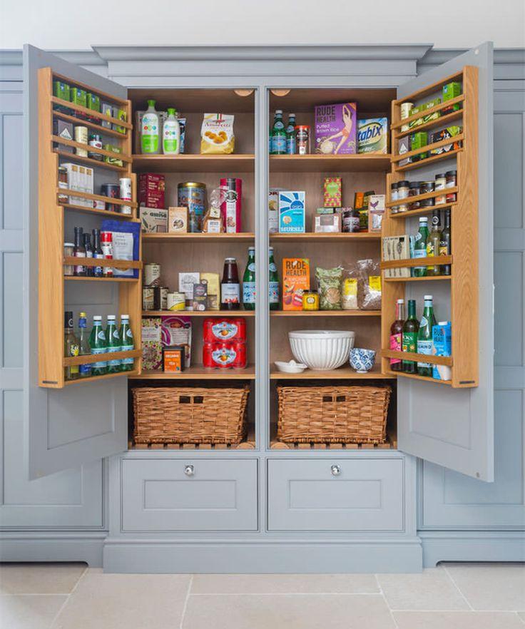 17 melhores ideias sobre armazenamento de porta de despensa no ...