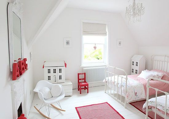 22 Adorable Girls Shared Bedroom Designs domki