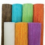 Yogasana Cotton Mats: If slippery palms compromise your yoga practice, try this handwoven cotton mat from Yogasana; it's actually easier to grip when wet. From www.yogasanamats.com. #yoga
