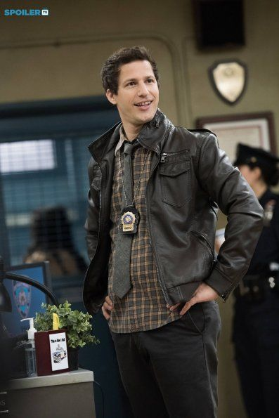 "#Brooklyn99 2x13 ""Payback"" - Det. Jake Peralta"