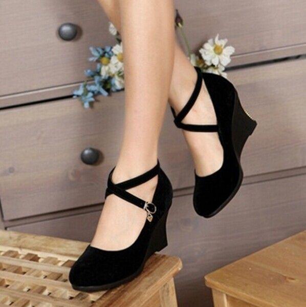 Aliexpress.com: Comprar Más el tamaño 34 43 mujeres Retro vintage zapatos de plataforma pisos vestido de moda zapatos hebilla zapatos mujeres zapatos primavera verano 4 colores de Planos fiable proveedores en Dora Lau's store