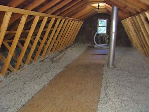 How to Install Blown-In Cellulose Insulation : Apparently cellulose is cheaper too?