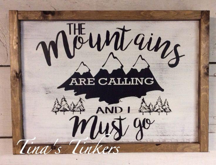 Les montagnes sont lappel et je dois aller. Crèche de la