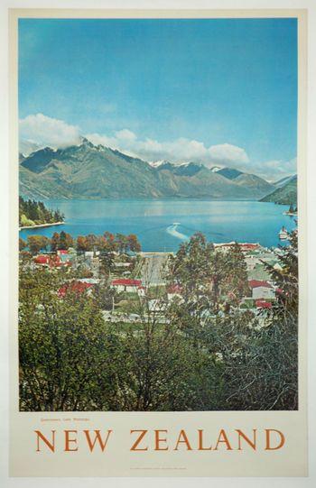 Smyth Gallery NZ Vintage Poster