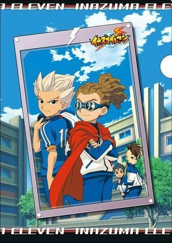 Goenji, Kidou, Toramaru and Fudou - Inazuma Eleven