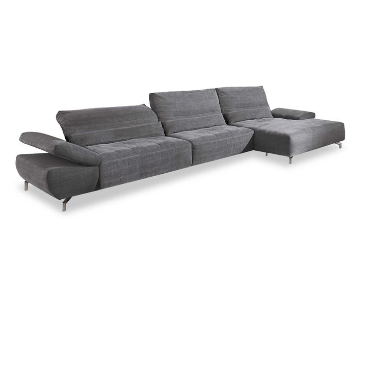 Musterring Ecksofa MR 6060 Anthrazit Stoff