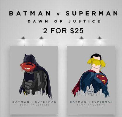 Batman Vs. Superman Set