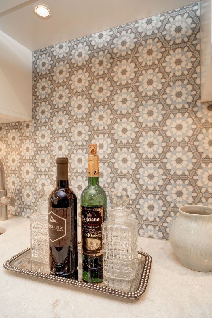 10 best kyoto ceramics by artistic tile images on pinterest an up close look at the alston hexagon tile featured on carrara this luxury tile dailygadgetfo Images