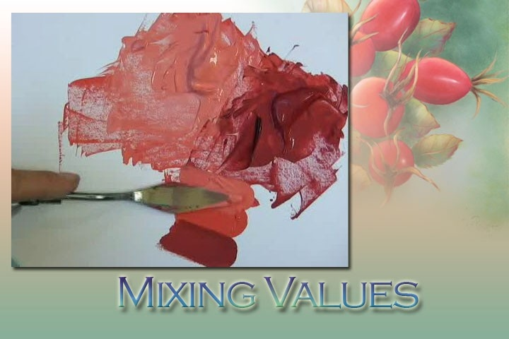 Online Painting Class - Acrylc - How to Blend for Realism ...