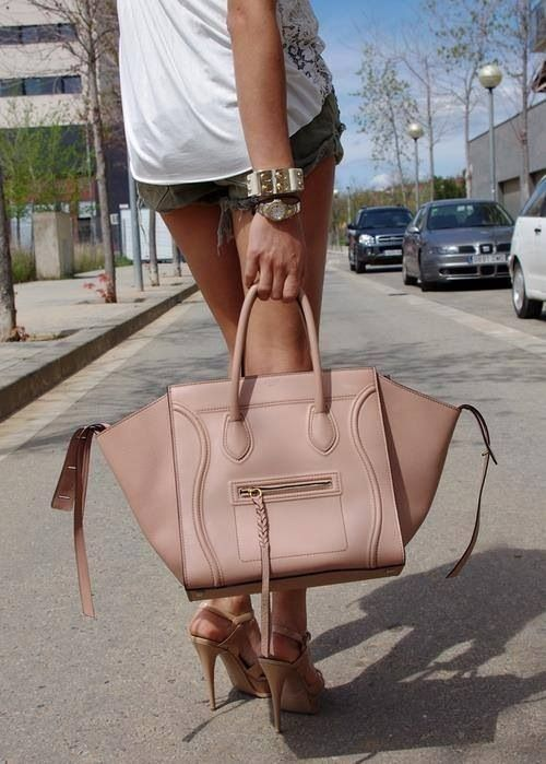Pastel pink Celine bag!!!!