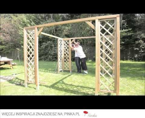 Pin 'Samodzielny montaż altany ogrodowej'  z tablicy 'DIY - zrób to sam w ogrodzie' użytkownika Ogrodosfera.pl