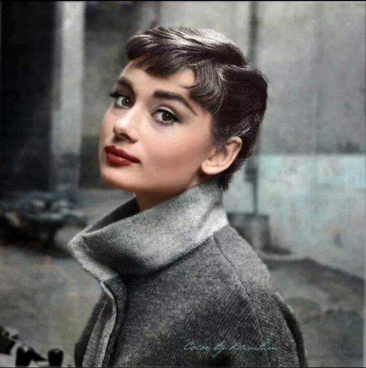 The Famous Audrey Hepburn Pixie Cut