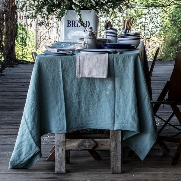 Francalia linen tablecloth