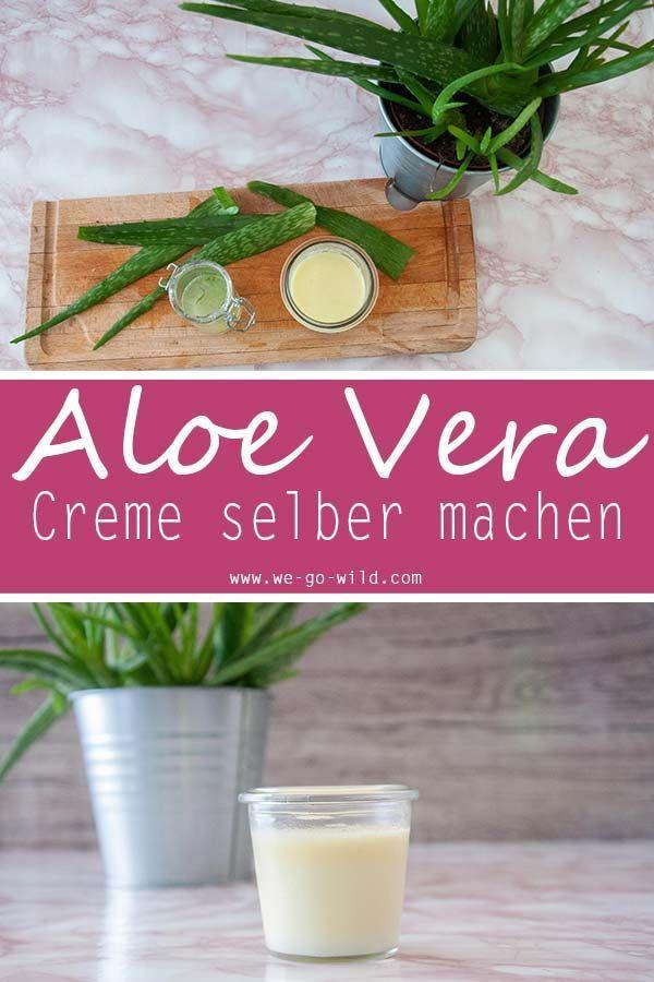 Aloe Vera Creme Selber Herstellen : aloe vera creme selber machen rezept diy bio kosmetik ~ Watch28wear.com Haus und Dekorationen