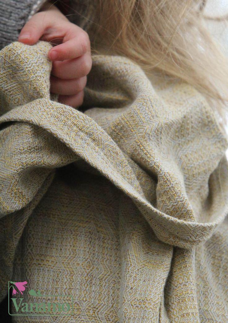 Wear A Baby - Vanamo Woven Wrap Kide Okra