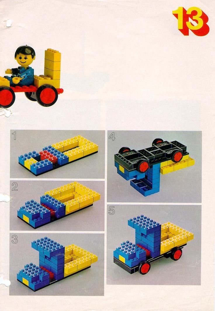 * Transport! lego bouwplaat