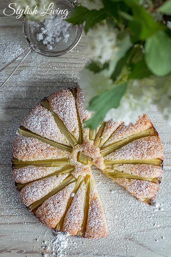 blitzschneller Rhabarberkuchen