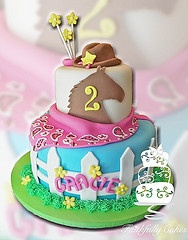 Cute Western Cake for a girl!