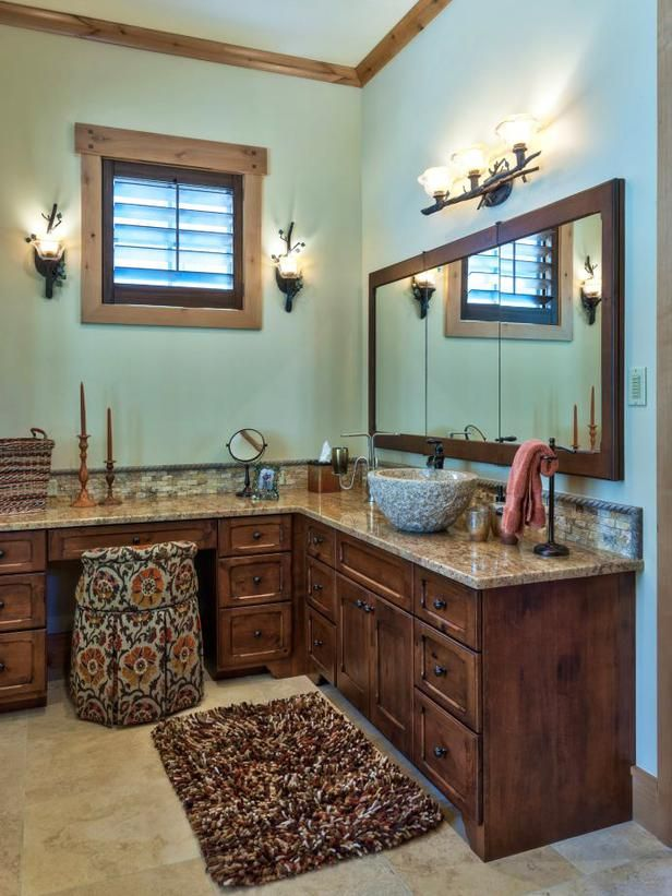 Transitional Bathrooms from Heather Guss on HGTV || NOTES ...