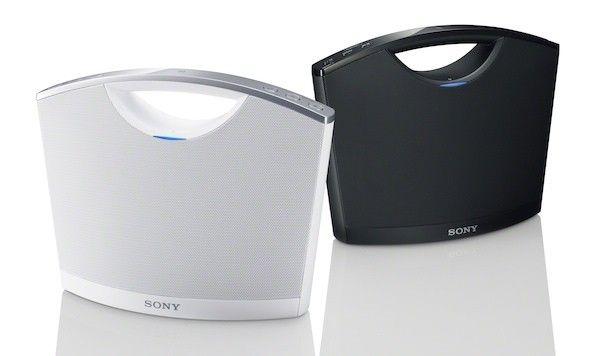Sony NFC speaker - SRS-BTM8.  Nice Product Design.