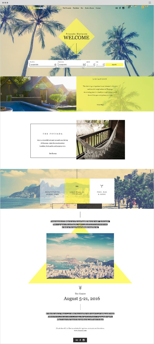 best ideas about website templates salon rio pousada mariposa website template
