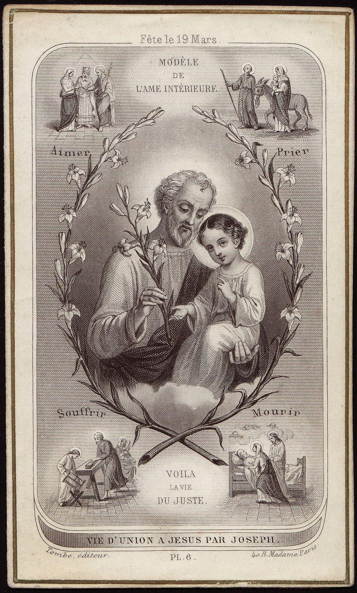 Znalezione obrazy dla zapytania saint joseph catholic tradition