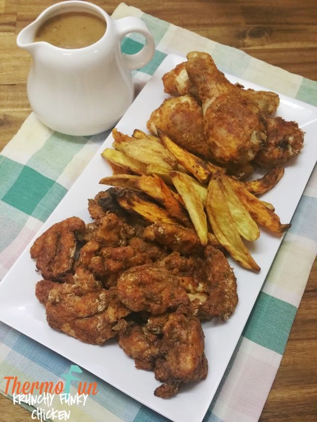 If you are looking for a great Krispy Fried Chicken then this Thermomix Krunchy Funky Chicken is perfect for the dinner table! You won't need to do any driv