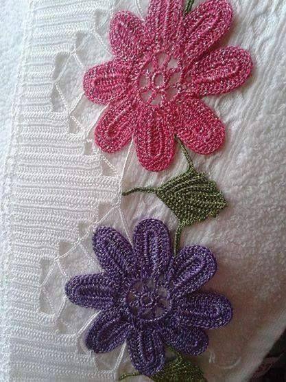 Havlu kenarı dantelimiz çok şık ve gösterişli bir dantel örneğidir. Şık ve alımlı olan bu havlu kenarını sizlerle paylaşıyorum. İşte dantel havlu kenarı.