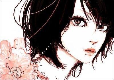 Категории: Арт, Девушки, Чёрные волосы, Цветы