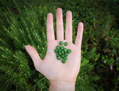 Dosage de la chlorella : 10 à 15 comprimes
