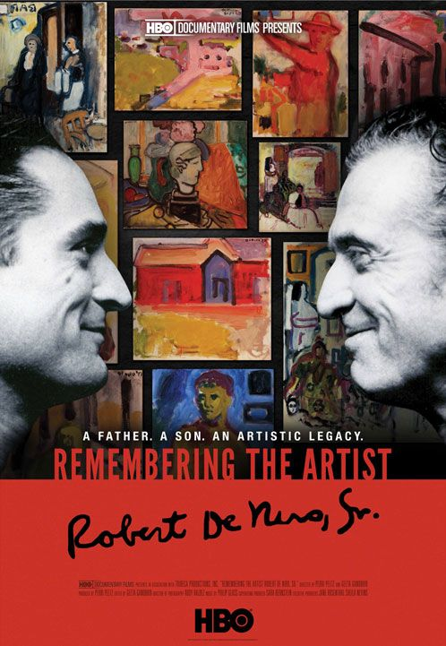 Remembering the Artist: Robert De Niro Sr.! Robert De Niro remembers his gay father!