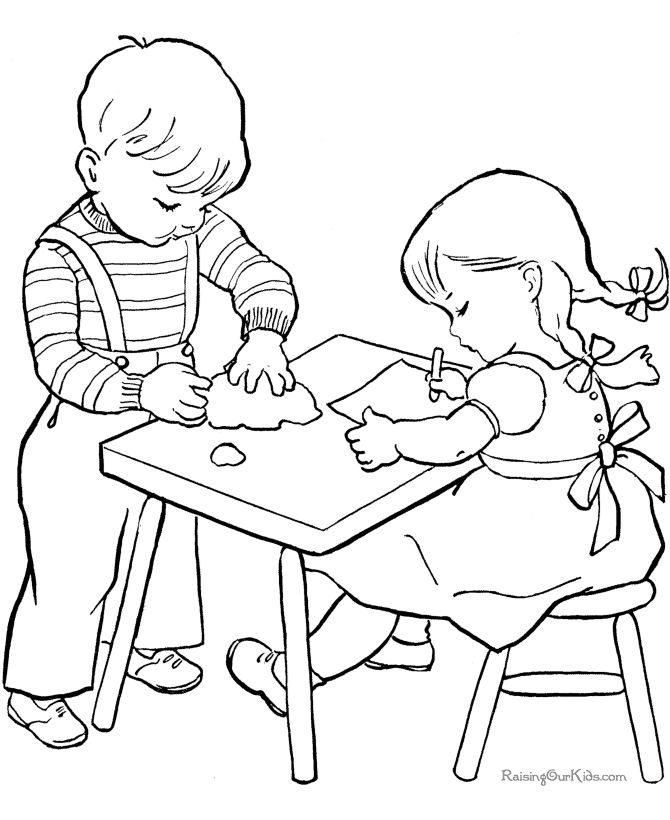 Free Sunday School Coloring Pages | School Coloring Sheets