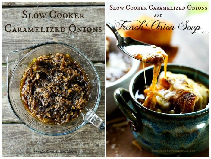 How To Make Caramelized Onions In The Slow Cooker Recipe | Apps ...